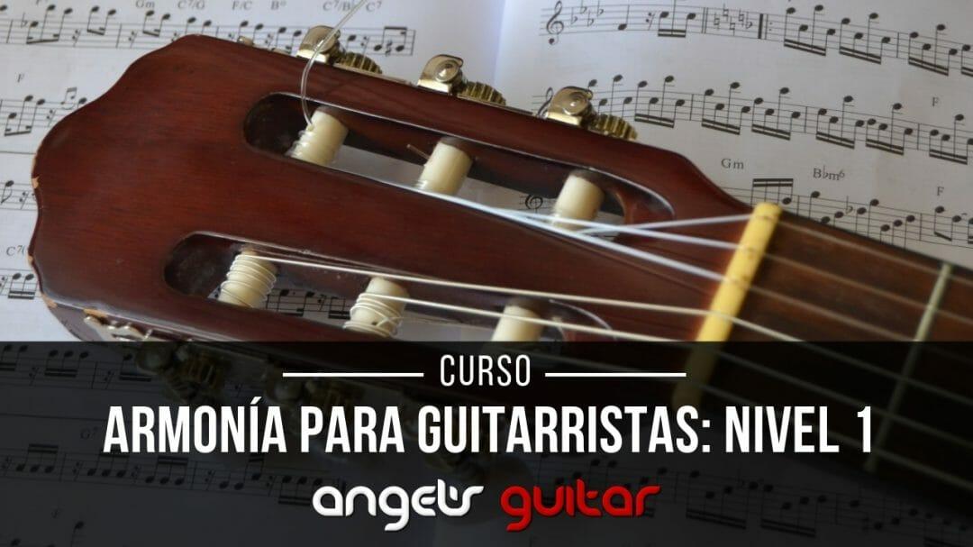 Armonia para guitarristas Nivel 1