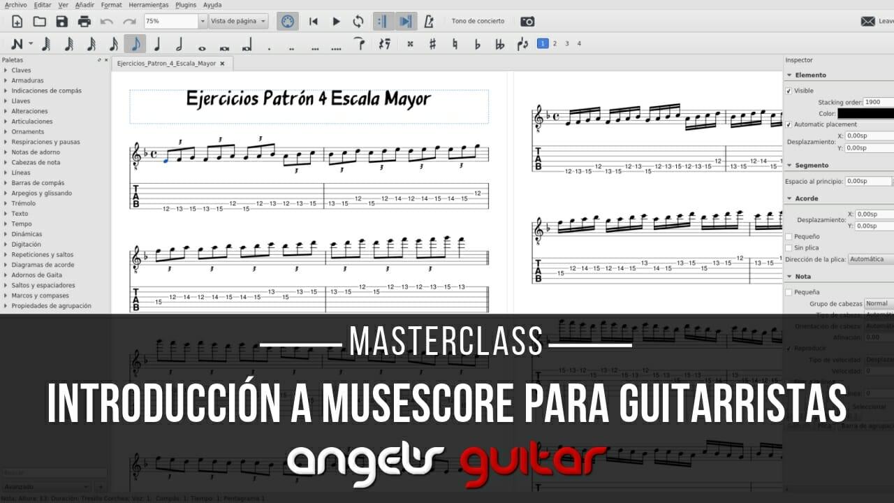 Introduccion a Musescore para Guitarristas